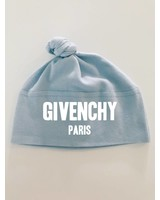 given baby hat blue