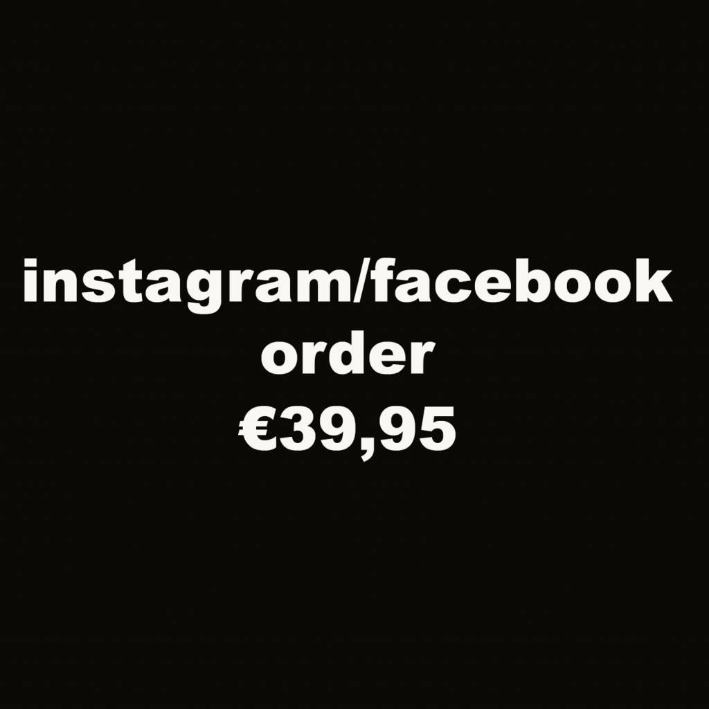 instagram/facebook 39,95