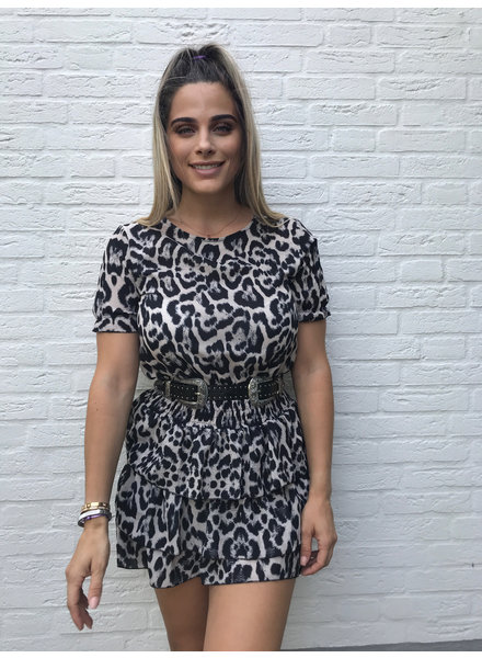 grey tiger dress