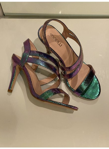 Heels blue purple