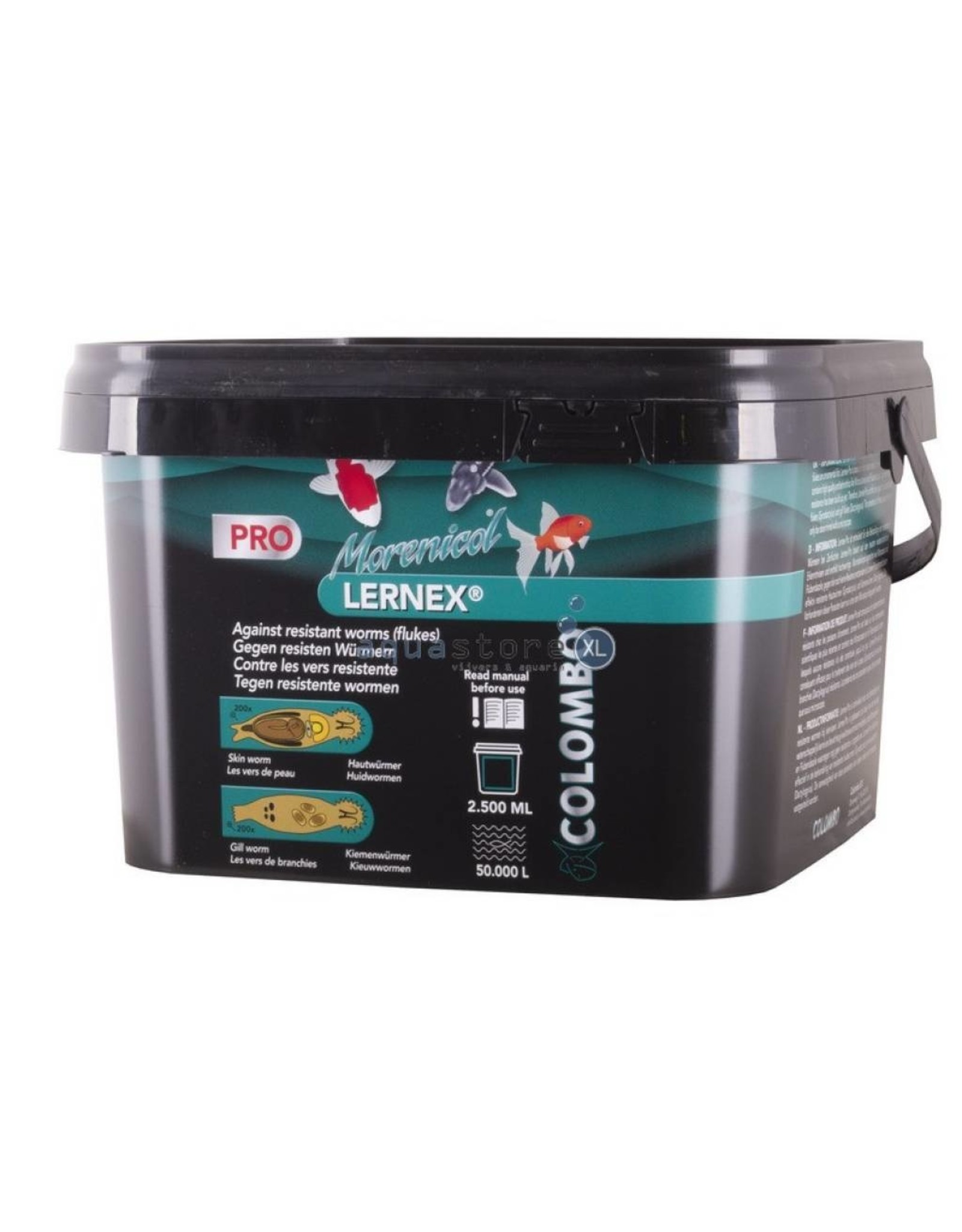 Colombo Morenicol Lernex Pro mit Praziquantel & Nitroscanate (gegen Resistenz)