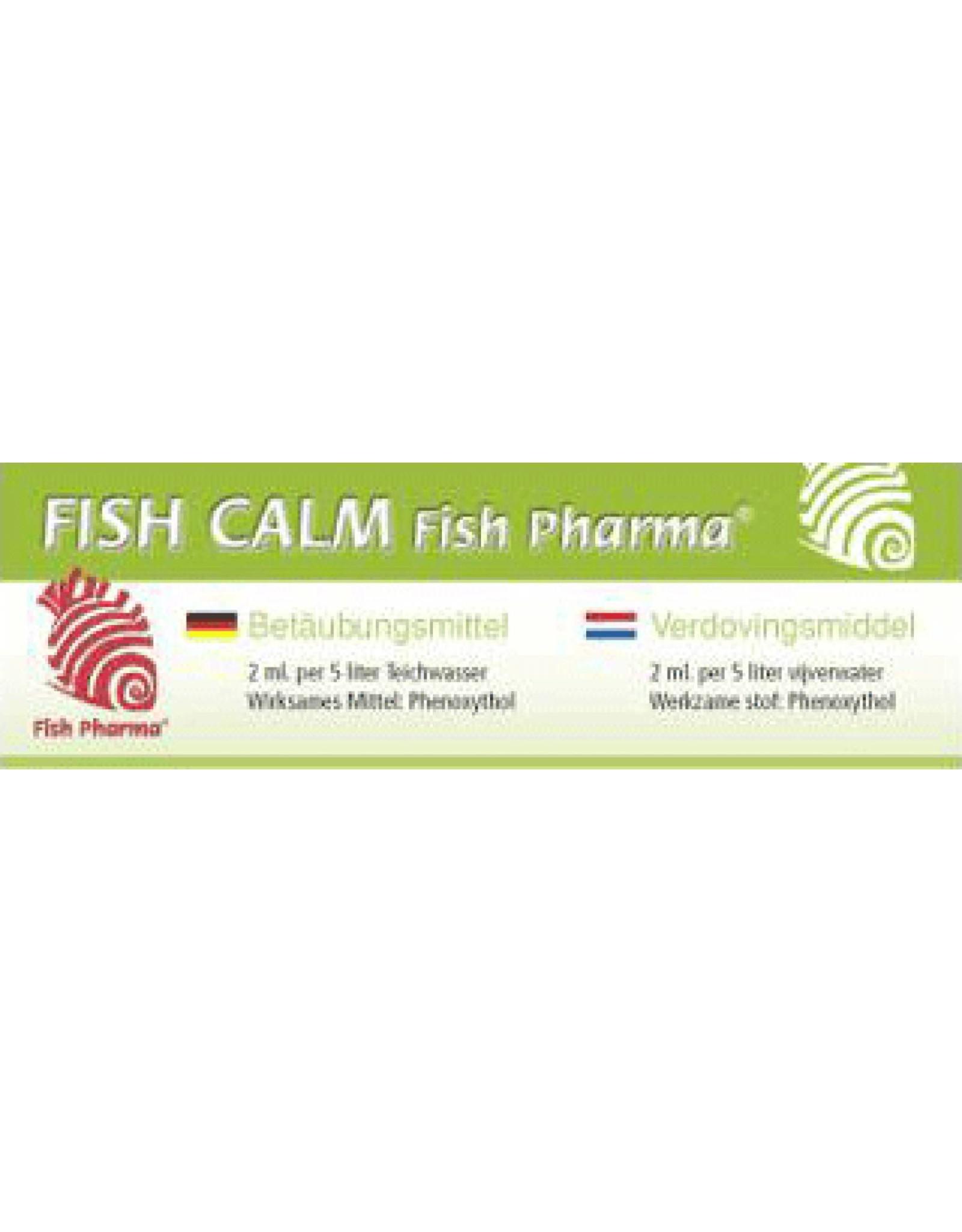 Fish Pharma Fish Calm verdovingsvloeistof voor vissen.