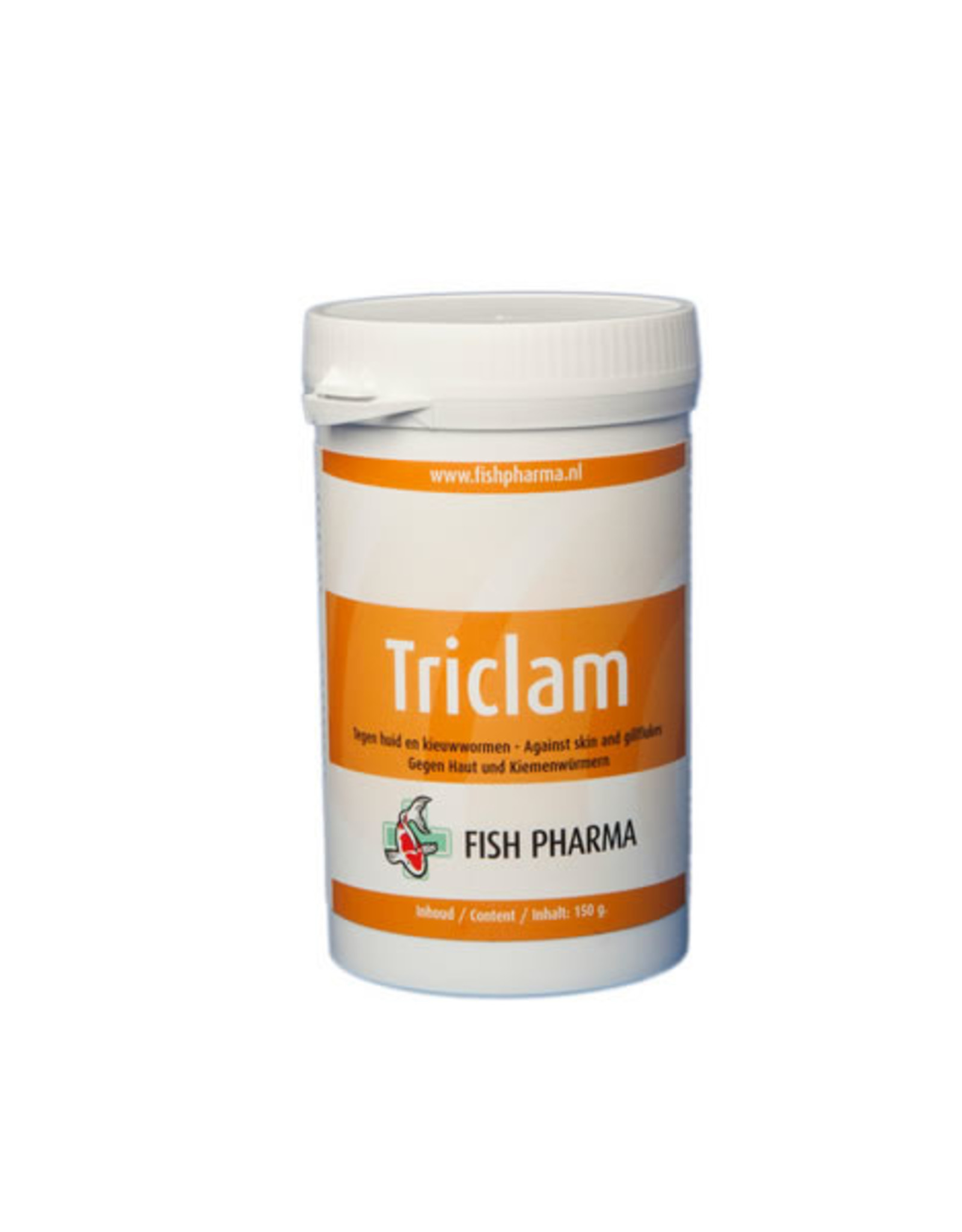 Fish Pharma Triclam tegen huid en kieuwwormen