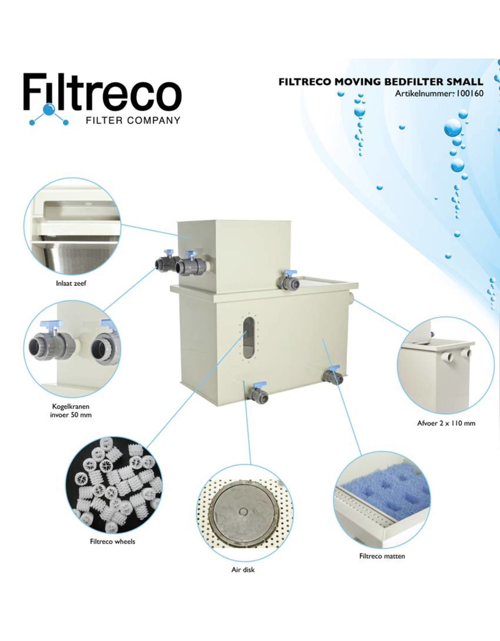 Filtreco Filtreco Moving Bed Filter Small
