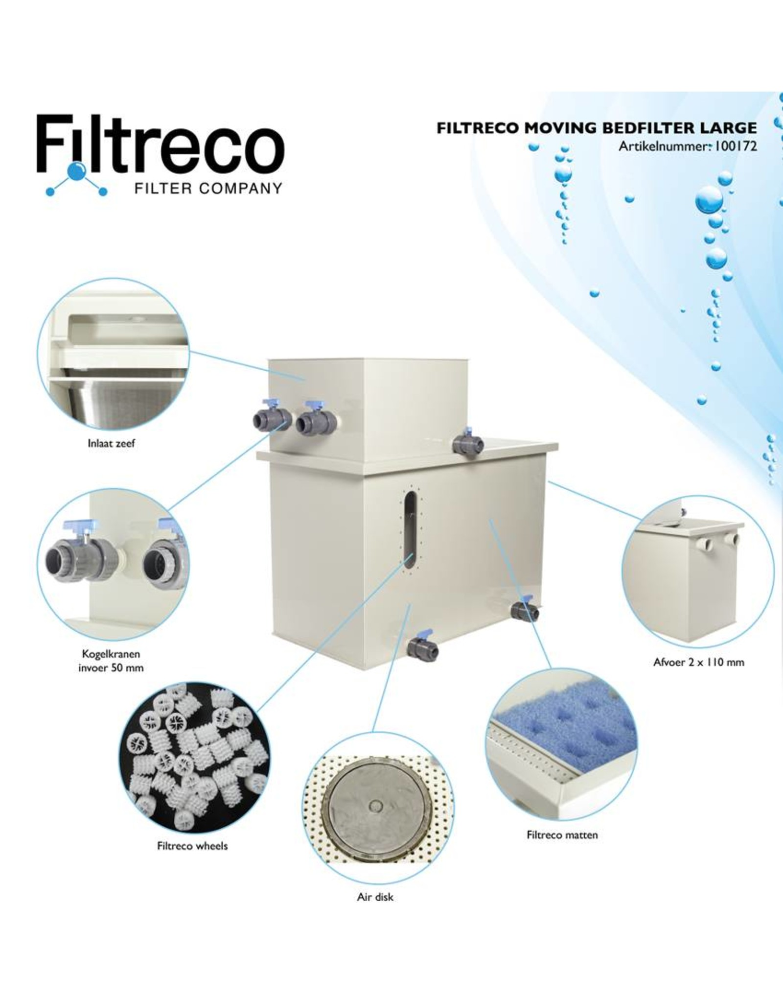 Filtreco Filtreco Moving Bed Filter Large