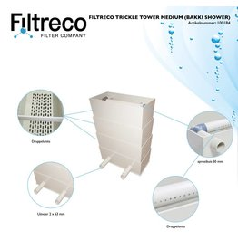 Filtreco Trickle Tower Medium