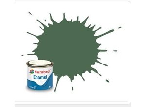 Humbrol 76 Uniform Green Matt - 14ml Enamel Paint