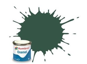 Humbrol 116 US Dark Green Matt - 14ml Enamel Paint