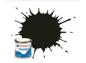 Humbrol 163 Dark Green Satin - 14ml Enamel Paint