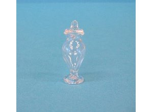 Euromini's EM6518 Glazen vaas met deksel
