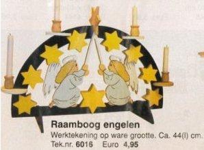 Bouwtekening raamboog engelen