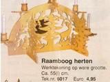 Bouwtekening raamboog herten