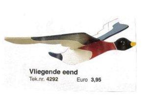 Bouwtekening vliegende eend