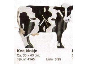 Bouwtekening koe klokje