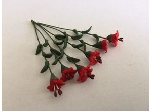 Euromini's EM4754 Rode bloemen