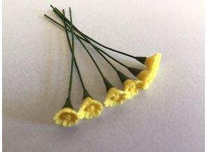 Euromini's EM4742 Gele bloemen