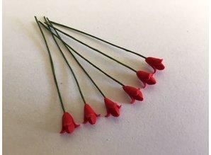 Euromini's EM4715 Rode bloemen