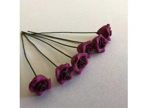Euromini's EM4737 Paarse bloemen