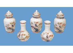 HuaMei Collection Vazen set, 5-delig JY0913