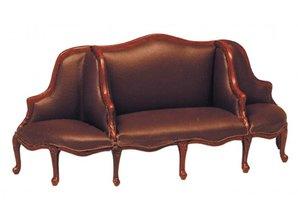 HuaMei Collection Sofa, bruin leder