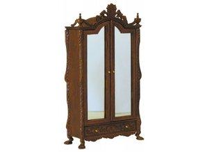 HuaMei Collection Kledingkast met spiegeldeuren.