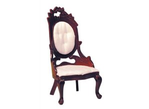Euromini's Fauteuil, mahonie