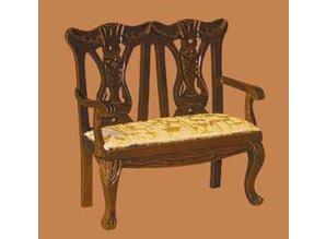 Euromini's Queen Anne 2-zits sofa, noten