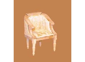 Euromini's Fauteuil, blankhout