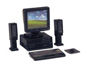 Euromini's Computerset, 6-delig, zwart
