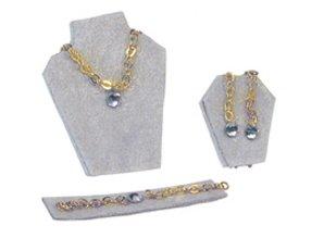 Euromini's Sierraden set, 3-delig goud/ diamant