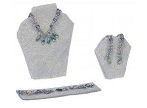 Euromini's Sierraden set, 3-delig zilver/ groen