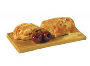 Euromini's Appelbrood op plank