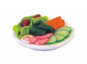 Euromini's Bord met salade