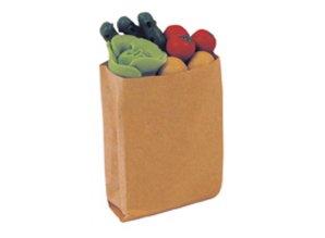 Euromini's Boodschappentas met groente