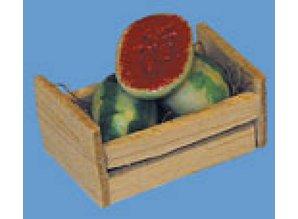 Euromini's Krat met watermeloen