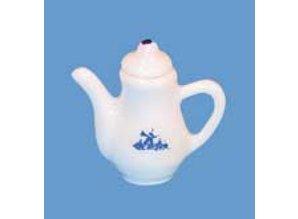 Euromini's Koffiekan, delftsblauw