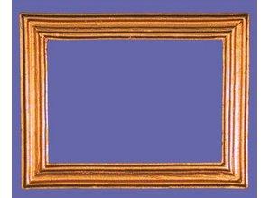 Euromini's Lijst 5,9(4,3) x 7,6(6,0) cm.