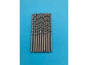 Euromini's EM8846 Boortjes 3 mm, 10 stuks