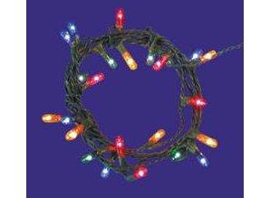 Euromini's Kerstverlichting 24 lampjes gekleurd micro 2mm, zonder stekker