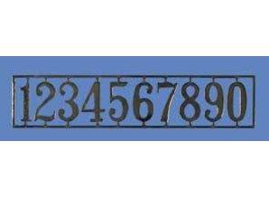 Euromini's Huisnummers, per set