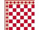 Euromini's Tiles, Red & White