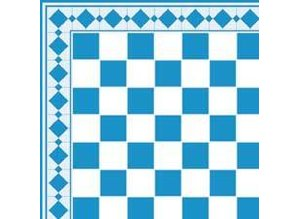 Euromini's Tiles, Light blue & White
