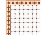 Euromini's Old Tiles, Brown & White