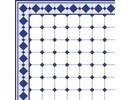 Euromini's Old Tiles, Blue & White