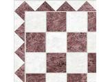 Euromini's Marble Tiles, Brown & White