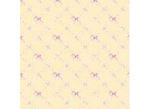Euromini's Butterflytie, pink on yellow