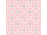 Euromini's Butterflytie, blue on pink