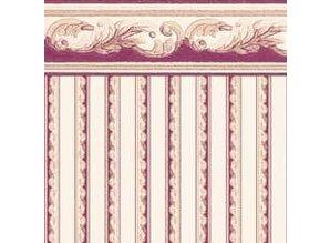 Euromini's Crest, burgundy on beige