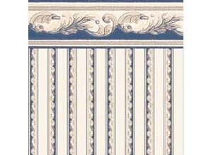 Euromini's Crest, blue on beige
