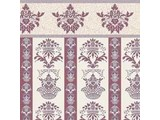 Euromini's Majestic, burgundy on ivory